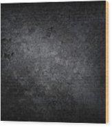 XXXL dark concrete Wood Print