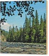 Yaak River Wood Print