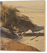 Yachats Oregon Beach Wood Print