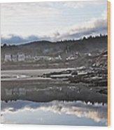 Yachats Oregon Wood Print