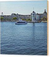 Yacht And Beach Club Wdw Wood Print