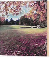 Yaddo Tree Wood Print
