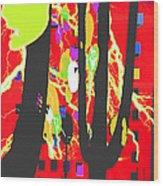 Yakety Yak Wood Print