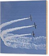 Yaks Aerobatics Team Wood Print