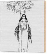 Yakshi14 Wood Print