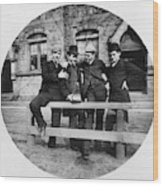 Yale Students, C1890 Wood Print