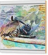 Yamaha Pelican Wood Print