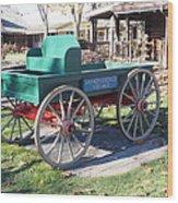 Yankee Candle Cart Wood Print