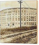 Yankee Stadium 1923 Wood Print