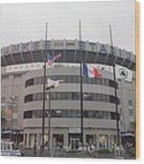Yankee Stadium 1976 - 2008 Wood Print