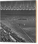 Yankee Stadium Game Wood Print by Underwood Archives