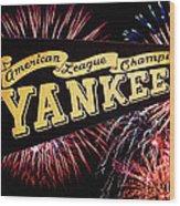 Yankees Pennant 1950 Wood Print