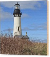 Yaquina Bay Lighthouse Wood Print