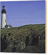 Yaquina Head Wood Print