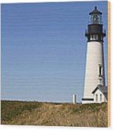 Yaquina Head Lighthouse 3 Wood Print