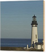 Yaquina Head Lighthouse 4 C Wood Print
