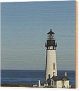 Yaquina Head Lighthouse 4 E Wood Print