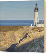 Yaquina Head Lighthouse 4 G Wood Print