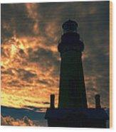 Yaquina Head Lighthouse 5 Wood Print