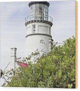 Haceta Head Lighthouse 7 Wood Print