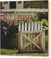 Yard Wood Print