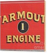 Yarmouth Engine 1 Wood Print