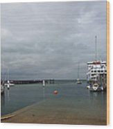 Yarmouth Harbour From The Slipway Wood Print