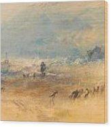 Yarmouth Sands Wood Print