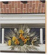 Yarrow And Lotus Arrangment Wood Print