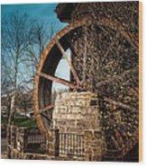 Ye Olde Mill Wood Print