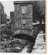 Ye Olde Toll Bridge Wood Print
