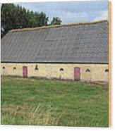 Yellow Brick Barn Wood Print