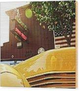 Yellow Cord Wood Print