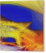 Yellow Dream Wood Print