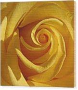 Yellow Light Wood Print