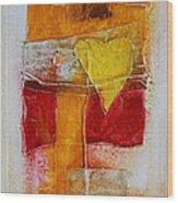 Yellow Love 2 Wood Print
