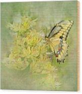 Yellow On Yellow  Wood Print