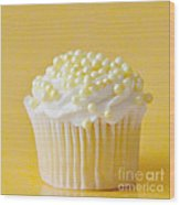 Yellow Sprinkles Wood Print