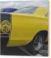 Yellow Superbee  Wood Print