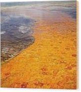 Yellowstone - The Elements Wood Print