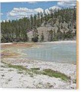 Yellowstone 1 Wood Print