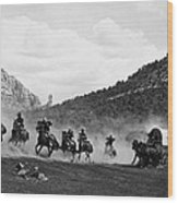 Yellowstone Kelly 1 Wood Print