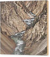 Yellowstone National Park Montana  3 Panel Composite Wood Print