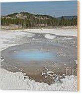 Yellowstone The Pearl Wood Print