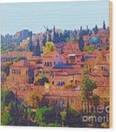 Yemin Moshe Wood Print