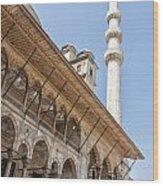 Yeni Cammii Mosque 11 Wood Print
