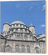 Yeni Cammii Mosque 12 Wood Print