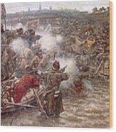 Yermaks Conquest Of Siberia Wood Print