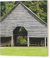 Yesterdays Barn Wood Print