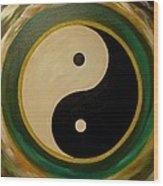 Yin And Yang 1 Wood Print